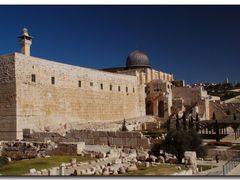 Jerusalem Tempelberg - al-Aqsa-Moschee **** Please enlarge ! by <b>Goldfoto</b> ( a Panoramio image )