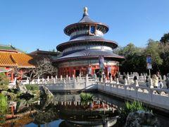 China Pavillon. Epcot Center, Orlando. by <b>Noe Alfaro Chaves</b> ( a Panoramio image )