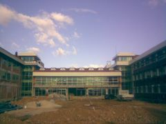 New building of Yahya Kemal college in Struga by <b>Ahmet Bekir</b> ( a Panoramio image )