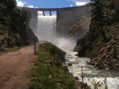 Waterton Canyon Dam, Littleton CO by <b>BobbyV</b> ( a Panoramio image )