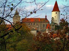 Krivoklat Castle by <b>J.M.G.</b> ( a Panoramio image )
