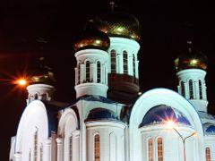 Успенский собор, Астана. by <b>unclefed</b> ( a Panoramio image )