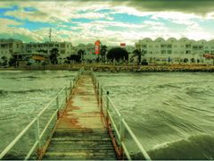 View to the Hotel Pirates Gate (former Royal Miramar Thalassa) by <b>olafju</b> ( a Panoramio image )
