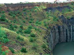 .The Big Hole Kimberley Mine_Kimberley SA. ©PhilRHamar  by <b>Phil R Hamar</b> ( a Panoramio image )