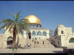 Dome of the Rock, Jerusalem by <b>Marco Langbroek</b> ( a Panoramio image )