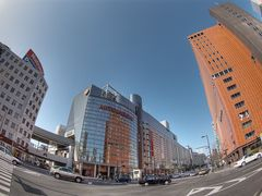 Tenjin, Mitsukoshi and Daimaru department store by <b>ascesis.image</b> ( a Panoramio image )