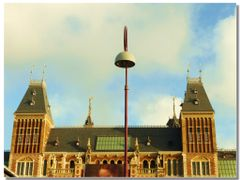 Il lampione davanti al Rijksmuseum by <b>Rafl</b> ( a Panoramio image )