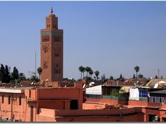 Over the roofs of Marrakesh by <b>Maciejk</b> ( a Panoramio image )