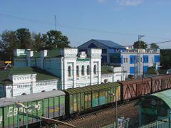 Станция Голицыно by <b>Fanata</b> ( a Panoramio image )