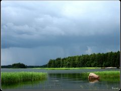 Will be rain! Porvoo in Finland ......{by Bassam} by <b>~Bassam</b> ( a Panoramio image )