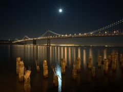 The moon becomes the Star by <b>Gerard Sanz</b> ( a Panoramio image )