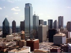 Dallas, Texas in July 1987 by <b>tillieannie</b> ( a Panoramio image )