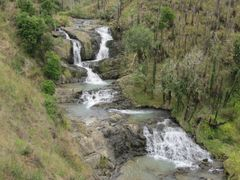 Mangapapa Stream waterfalls, Karakariki by <b>johnrag</b> ( a Panoramio image )