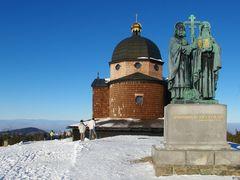 Beskydy, Radhost, kaple Cyrila a Metodeje by <b>SMilanS</b> ( a Panoramio image )