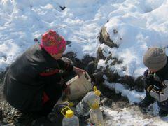Родник откуда берут питьевую воду жители села by <b>Osh GIS</b> ( a Panoramio image )