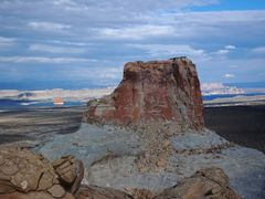 Big Brother watching Lone Rock - Stud Horse Point by <b>Bernhard Fertig</b> ( a Panoramio image )