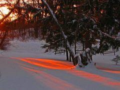 Warm Winter Sunrise by <b>idahodon</b> ( a Panoramio image )