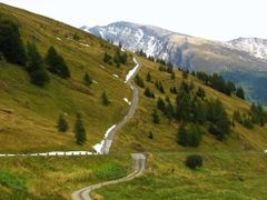 Szlaki przy Grossglockner. by <b>REmiasz</b> ( a Panoramio image )