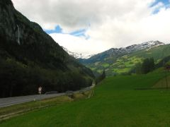 Wodospady na drodze do Grossglockner. by <b>REmiasz</b> ( a Panoramio image )