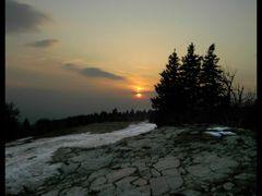 Beskydy mountain sunset / z Radhoste na Pustevny by JP by <b>Hanz.P69.cz</b> ( a Panoramio image )
