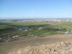Улаангом хот Улаан уулан дээрээс by <b>hurle0409</b> ( a Panoramio image )