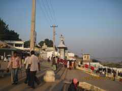 Amaravathi, it is a mini Varanasi by <b>Guhan</b> ( a Panoramio image )