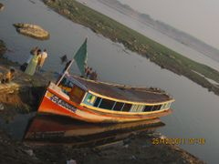 Tourist boat in river Krishna by <b>Guhan</b> ( a Panoramio image )