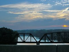 2010, Sunrise crossing, Coosa River by <b>Qwilleran</b> ( a Panoramio image )