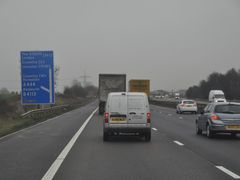 North Warwickshire : The M6 Motorway by <b>A Photographer</b> ( a Panoramio image )