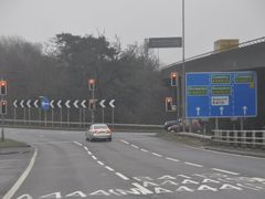 North Warwickshire : The M6 Motorway Junction 3 by <b>A Photographer</b> ( a Panoramio image )