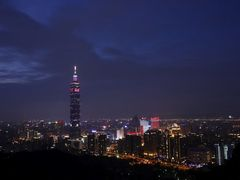 Taipei 101  in Lantern Festival (??101) by <b>MF(Meditation Falcon)</b> ( a Panoramio image )