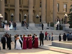 Busy Afternoon at Legislature Building, Edmonton by <b>Jacenty</b> ( a Panoramio image )