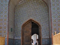 Entrance to the Palace of Khudayar in Kokand, Uzbekistan. by <b>Nicola e Pina Uzbekistan 2011</b> ( a Panoramio image )