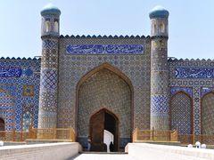 Khudayar Palace in Kokand, Uzbekistan. by <b>Nicola e Pina Uzbekistan 2011</b> ( a Panoramio image )
