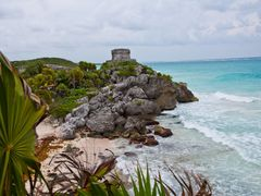 Maya Ruins of Tulum, Yucatan, Mexico by <b>Willi Frerich</b> ( a Panoramio image )
