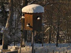 Zima v holubniku :) by <b>Mirka Scharfnerova</b> ( a Panoramio image )
