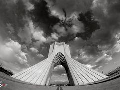 Azadi Tower by <b>S.Samaee</b> ( a Panoramio image )