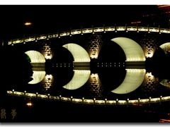 """Crescent moon"" bridge-Quehua bridge by <b>Li Ang</b> ( a Panoramio image )"