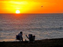 Atardecer en Punta del Este Uruguay by <b>servicioti</b> ( a Panoramio image )