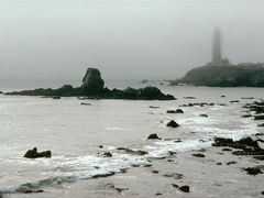 South Coastside, Old Pigeon Point Lighthouse near Butano State P by <b>Merz_Rene</b> ( a Panoramio image )