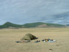 Campement avant Tariat by <b>catof</b> ( a Panoramio image )