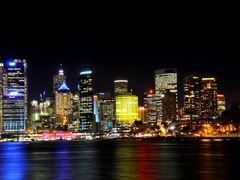 Sydney, Australia  by Night... by <b>FGirolamo</b> ( a Panoramio image )