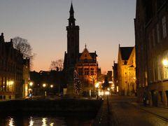 Brugge at night by <b>Tjarko Evenboer</b> ( a Panoramio image )