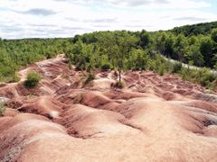 Cheltenham Badlands by <b>Richard Hughes</b> ( a Panoramio image )