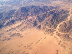 Egypt z lietadla / Egypt from an aircraft by <b>Majka44</b> ( a Panoramio image )