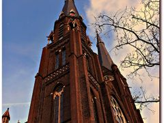 Tower Maria Jesse Church (1882) - Delft - The Netherlands by <b>© cvandermeijden</b> ( a Panoramio image )