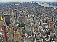 MANHATTAN - HDR / Marvelous view from Empire State Building by <b>Ahmet Bekir</b> ( a Panoramio image )
