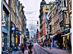 Leidsestraat, Amsterdam. by <b>GoldDustWoman</b> ( a Panoramio image )