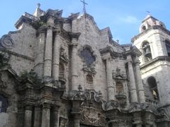 Detalle fachada, catedral de La Habana by <b>Inaki Zapata</b> ( a Panoramio image )