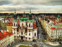 Praha: Kostel sv. Mikulase na Staromestskem namesti / St. Nichol by <b>Premysl</b> ( a Panoramio image )